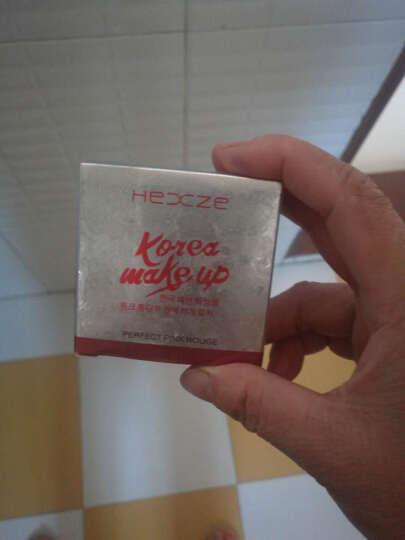 韩熙贞(HEXZE) 绝配粉嫩BB腮红3.2g  胭脂 持久自然修容美妆 心机裸妆 01胭脂红 晒单图