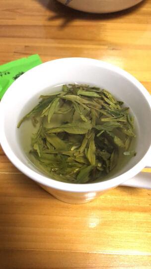 狮梅牌龙井茶2020新茶上市 春茶绿茶雨前龙井茶工艺绿茶肆号 老茶树纸包250g 豆香龙井茶叶 晒单图