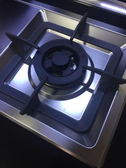 欧门 集成灶蒸箱 侧吸式抽油烟机灶具电蒸箱套装 烟灶套装 带清洗 人工煤气 晒单图