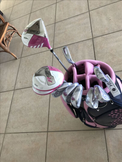 Polo Golf 高尔夫球杆 女士全套 golf球具套装球杆 女生初学套杆 创新款 女士全套 晒单图