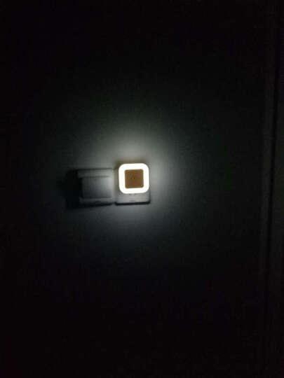 【天黑自动亮 天亮自动灭】LED节能创意光感小夜灯生日礼物卧室婴儿宝宝喂奶 小夜灯 晒单图
