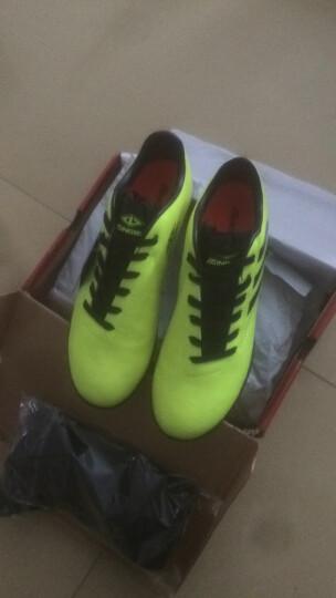 【送袜子】足球鞋碎钉 儿童足球鞋男训练学生足球鞋TF/AG钉专用足球鞋子 红色(TF碎钉) 41(偏小一码) 晒单图