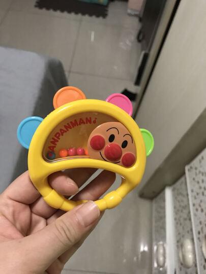 【全球购】日本原装匹诺曹面包超人婴幼儿手摇铃牙胶式乐器玩具 牙胶摇铃 晒单图