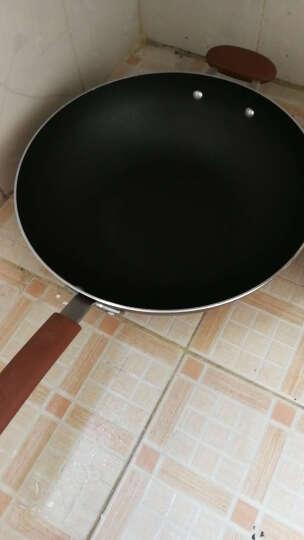爱仕达 32CM油你控新不粘少烟炒锅CL32Y5WT-T 不沾锅少油烟电磁炉通用 深咖色 晒单图