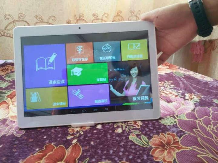 八核通话学习机平板电脑10.1英寸FHD高清同步教育点读机 M7玫瑰金16G+学习软件 官方标配+键盘 晒单图