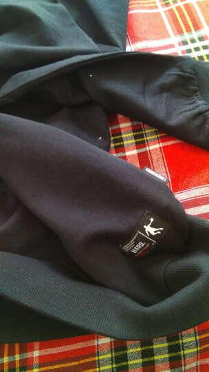 乔丹 男装上衣运动套头卫衣休闲男上衣 XWD3371109 白色 3XL 晒单图