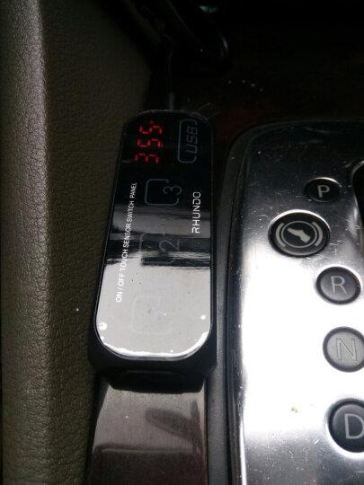 TAILING   RHUNDO触摸感应带总开关点烟器一拖三车充电器车载电源 触感式一拖三点烟器+20个排线卡 晒单图