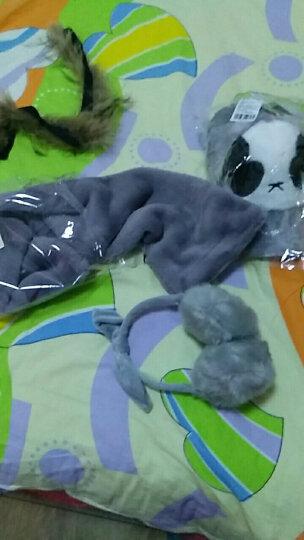 苏子 耳套女冬天可爱韩版冬季护耳耳包保暖耳朵捂 卡通耳罩仿皮草  灰色 晒单图