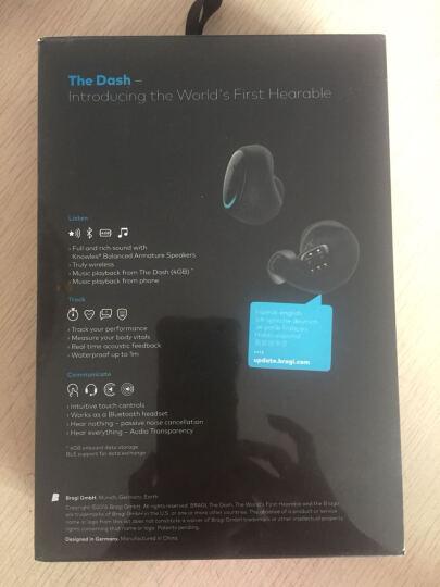 Bragi The Dash pro 真无线智能蓝牙耳机 游泳防水测心率 运动检测 降噪air入耳式 The Dash 晒单图