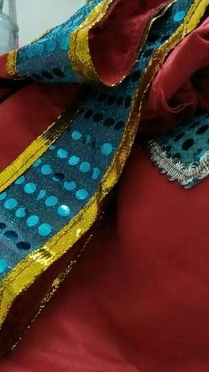 三月三新款苗族服装少数民族演出服土家族舞蹈服装壮族表演服苗族演出服 Q 2号紫色长款(送仿版项圈) L 晒单图