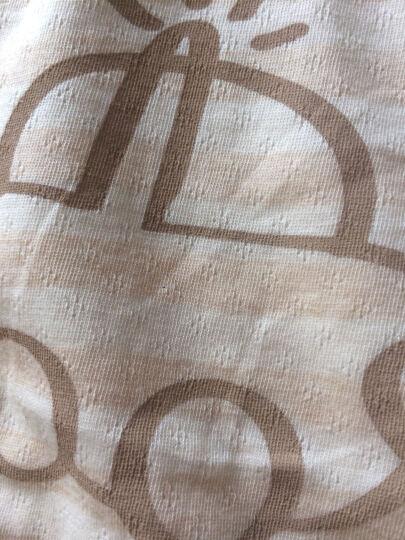 南极人(Nanjiren)【6款可选】婴幼儿背心短袖套装两件套彩棉男女萌宝夏季衣服新款 小兔 90CM(建议18-24个月,26斤宝宝) 晒单图