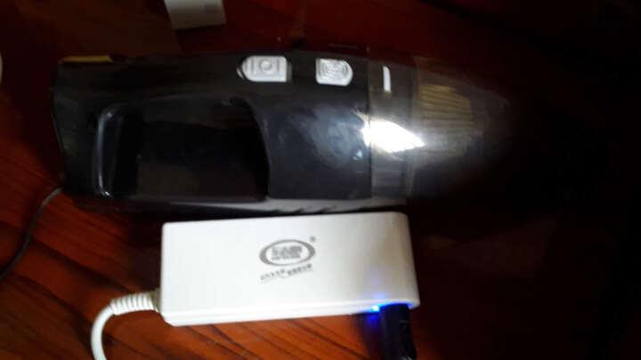 车志酷 四合一多功能大吸力车载吸尘器12v大功率充气泵轮胎打气机汽车用迷你便捷式车内吸尘器 车载吸尘器(白色) 晒单图