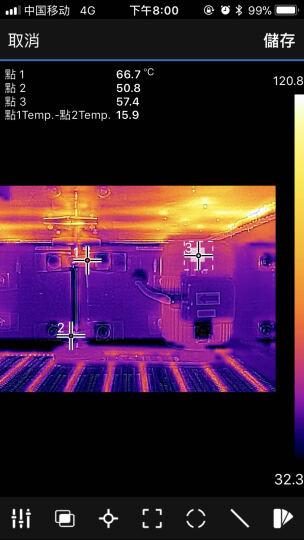 菲力尔(FLIR)ex系列热成像仪 红外热成像 进口红外热像仪 高清高精便携式 E8 晒单图