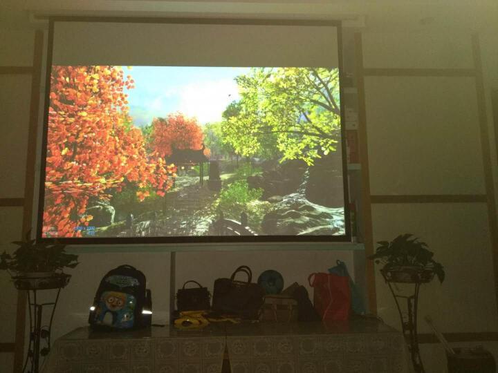 艾洛维(inovel)Me2投影机 投影仪家用(1080P分辨率 1100ANSI流明  自动对焦 小米电视系统  分体音箱) 晒单图