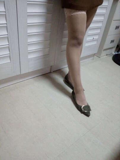 伦洛弗丝袜女夏季肉色长筒丝袜过膝丝袜日韩防勾丝打底袜超薄高筒袜 3条KD丝袜肤色 晒单图