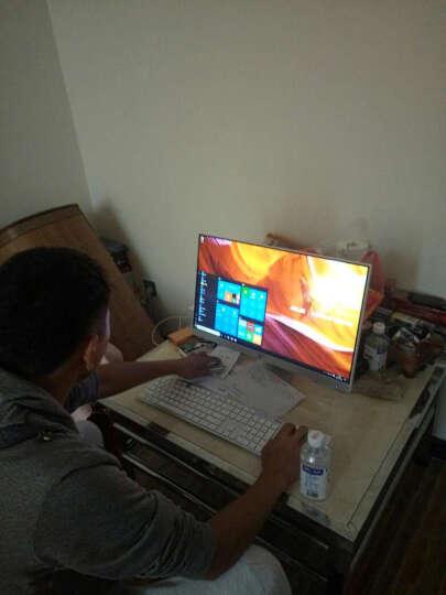 惠普HP小欧系列 一体机电脑 办公家用游戏商用台式电脑主机窄边框23.8英寸整机电脑【内置无线蓝牙】 爆款二 | 白色 i3 8G 128G+1T/2G 晒单图