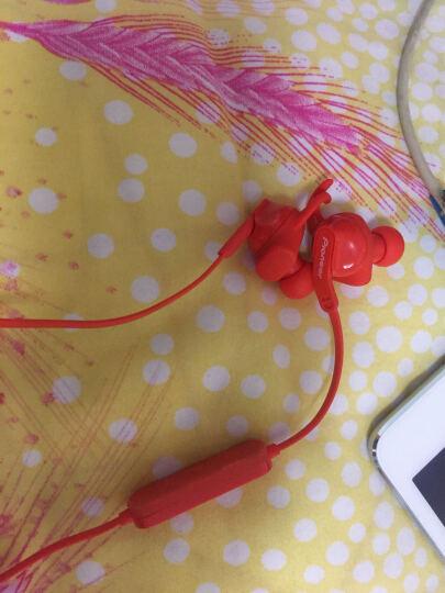 先锋(Pioneer)SEC-S201BT苹果华为小米无线蓝牙耳机入耳式 运动耳机手机耳麦 橙 晒单图