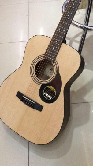 Ibanez Cort 考特(CORT)印尼进口初学入门民谣吉他 510E电箱吉他原木色40寸 晒单图