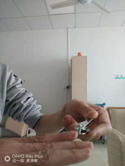 包邮 博友BOYOU指甲刀儿童指甲剪婴儿指甲钳斜口单个修甲刀美甲工具剪指甲刀脚趾甲剪带指甲锉 033HE-19 小号 晒单图
