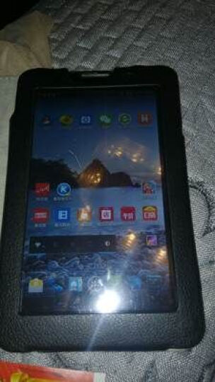 联想(Lenovo) Tab3 7英寸四核安卓系统上网娱乐平板电脑手机pad tab3 730F/1GWIFI上网版黑色 官方标配+16G内存卡 晒单图