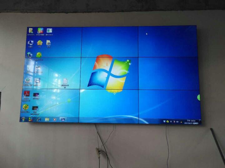 康普瑞液晶拼接屏会议演示拼接电视墙安防监控液晶电视墙3.5mm窄边拼接显示器商用拼接大屏 50英寸16mm拼缝 晒单图