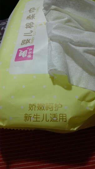 象宝宝(elepbaby)婴儿棉签 新生儿宝宝细轴清洁棉花棒棉签600支(150支/盒X4盒) 晒单图