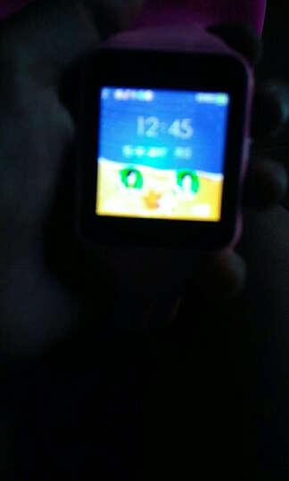 【送内存卡】妙弦 儿童电话手表智能手表手机插卡通话触屏定位电话手表学生 靓粉色三代学习版(定位+拍照+16G卡) 晒单图