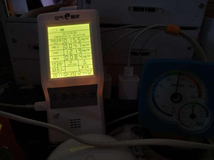 绿之源 空气e管家6.0 多功能有害物质空气测试仪器甲醛检测仪家用检测盒监测五合一 晒单图