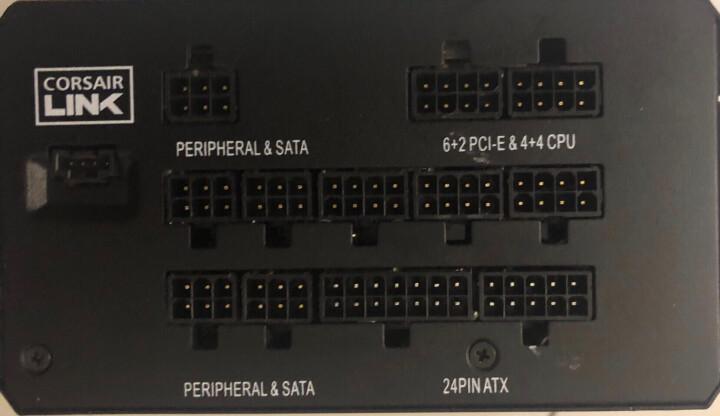 长城(GreatWall)额定600W巨龙GW-6800(90+)电源(80PLUS金牌/日系固态电容/5年质保/DC-DC/模组化) 晒单图