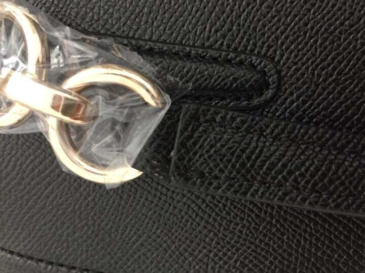 COACH 蔻驰 奢侈品 女士黑色皮质手提单肩斜挎包杀手包 F57523 IMBLK 晒单图