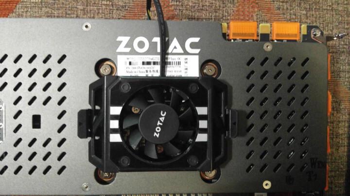 索泰(ZOTAC)Geforce GTX 1070 至尊PLUS OC 1594-1784MHz/8058MHz 8G/256bit GDDR5 PCI-E显卡 晒单图