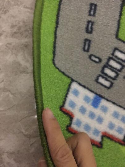 毯诚网  儿童卡通益智卧室地毯 卧室婴儿宝宝爬行毯儿童益智游戏毯垫满铺床边毯儿童房 可定制 跳房子 160CM*230CM 晒单图
