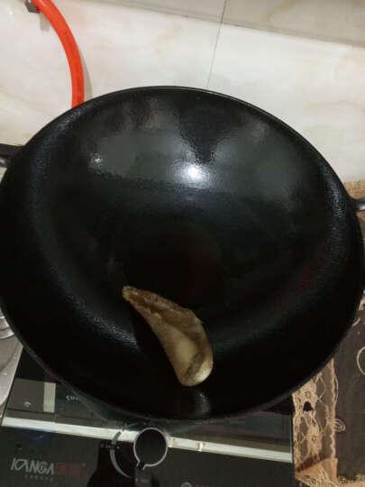 典匠铸铁炒锅铁锅生铁锅36cm圆底无油烟无涂层炒菜锅不粘锅具燃气 晒单图