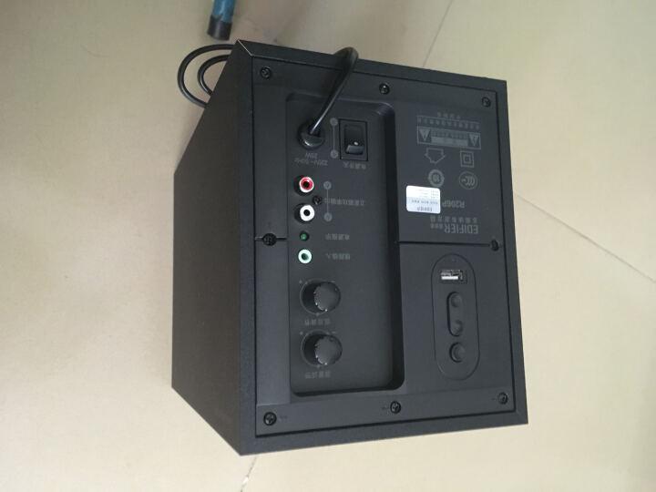 漫步者(EDIFIER) R206P U盘播放 2.1声道 多媒体音箱 音响 电脑音箱 黑色 晒单图