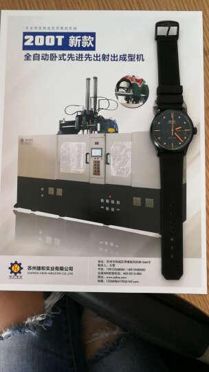 悠洋硅胶手表带 防水橡胶表链 适配卡地亚 通用平口手表22|23m黑色 黑色--黑色扣 23mm 晒单图