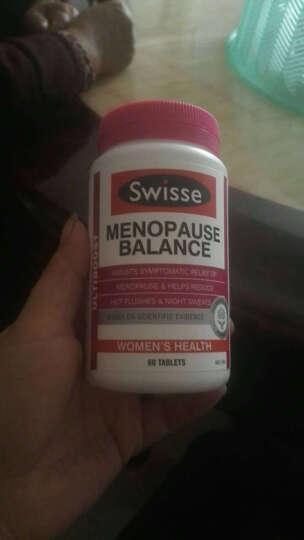 Swisse 大豆异黄酮 更年期平衡营养素60片 改善睡眠  改善绝经期症状 延缓衰老 促进内分泌 一瓶 晒单图