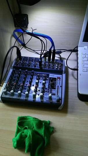 百灵达(Behringer) QX1202USB 调音台专业 舞台 会议 家庭娱乐 带效果 声卡 晒单图