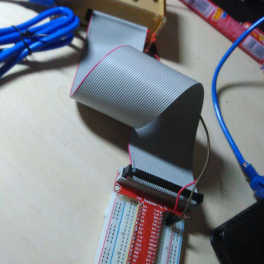 RASPBERRY PI 树莓派扩展板 GPIO板 T字型板40P排线 面包板 扩展套件 扁平电缆 晒单图