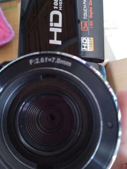 欧达 Z8摄像机数码DV全高清闪存双重五轴防抖红外遥控2400万像素16倍变焦家用旅游 黑色 京东送货+原装电池+32G高速卡送大礼包 晒单图