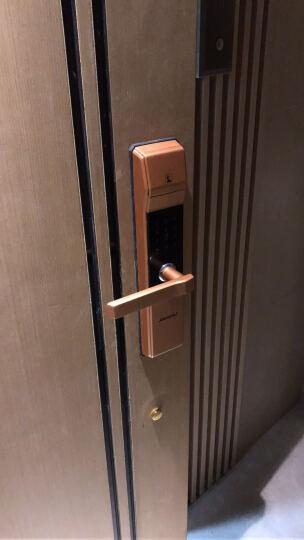 凯迪仕(KAADAS) 指纹锁 5005 智能锁密码锁 家用防盗门锁 电子密码锁 香槟金 晒单图