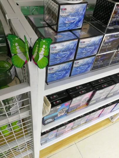 喜艾林 10只3D立体蝴蝶墙贴画家装创意冰箱贴墙壁贴纸铁艺装饰品窗帘墙贴纸9+7cm双层 10只磁铁款款式随机 晒单图