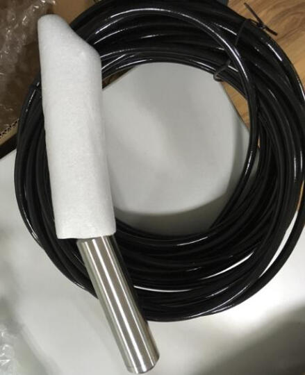 投入式液位变送器 传感器4-20mA 水位油位传感器变送器 水箱水位计 水位控制器 水油投入式液位计 0-1m量程 送5m引线 晒单图
