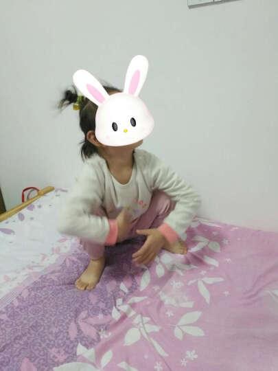 俞兆林(YUZHAOLIN) 儿童柔棉家居服套装男女童家居服2件套小孩衣服中小童学生空调服春夏新品 菠萝小西瓜浅兰 120CM 晒单图
