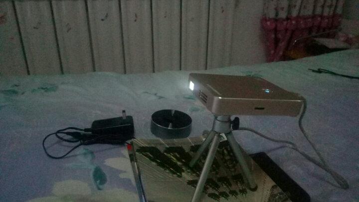 Tumetimes 图美Q8微型手机投影仪家用迷你全高清投影机智能wifi短焦3D无线便携办公 32G 香槟金 晒单图