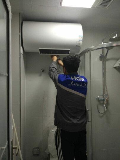 海尔(Haier)60升电热水器 双管大功率遥控 一级能效节能预约 专利2.0安全防电墙EC6001-GC 晒单图