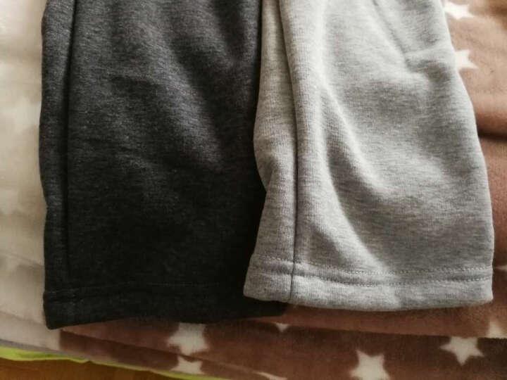 冰川熊(BINGCHUNXIONG) 儿童裤子童装童裤 运动裤男童长裤中童春秋款儿童休闲裤 米灰色春秋款 130(建议身高130cm左右) 晒单图