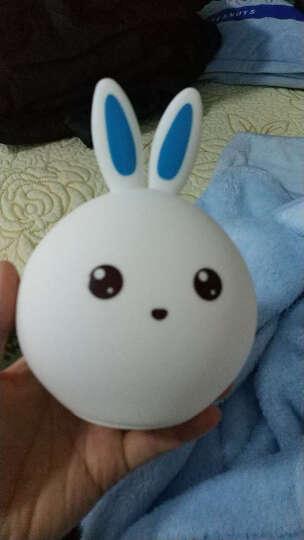 儿童生日礼物7-14岁小孩10岁女孩送女友女生小朋友小学生小女孩男孩女儿小夜灯兔子灯实用拍拍灯小男孩 开心兔+送礼袋+彩纸包装 晒单图