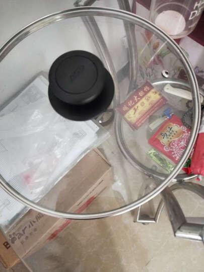 爱仕达(ASD) 平底锅不粘锅煎锅 28cm无油烟控油环 煎蛋煎饼牛排锅 煤气电磁炉通用 26cm(原装ASD锅盖) JL26A1WG-C 晒单图