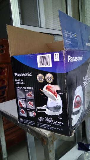 松下(Panasonic)电熨斗 挂烫机NI-WL50无绳蒸汽熨烫系列(玫瑰红) 晒单图