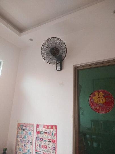 美的(Midea)FW40-11AR 五叶遥控电风扇/挂壁式 商居两用壁扇 晒单图